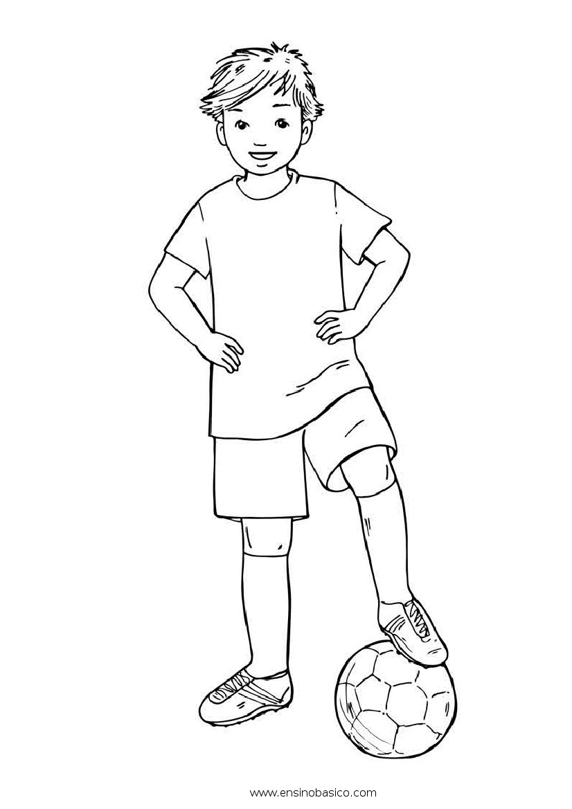 Image Result For Coloring Pages Soocer