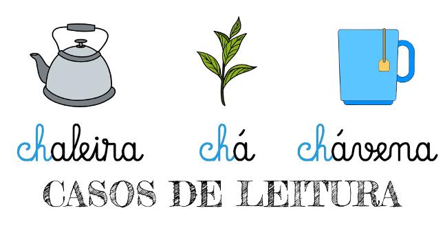 Aprender o dígrafo Ch | Casos de leitura em português!